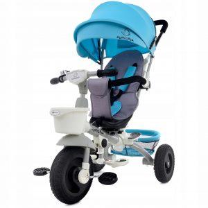 Rowerek trójkołowy 4w1 - rowerek i wózek w jednym