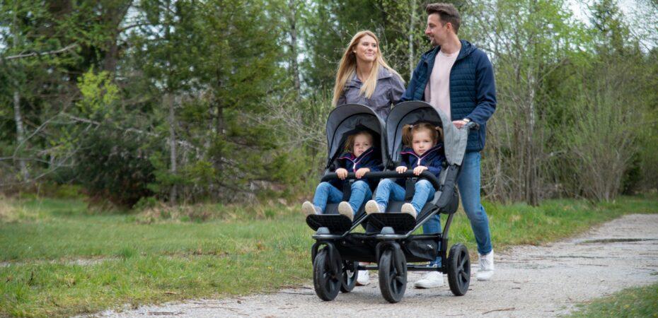 Wózek bliźniaczy Duo Sport – najlepszy wybór dla twojej rodziny